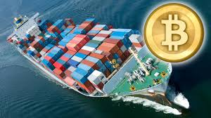 Bitcoin in shipping